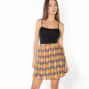 Dresses & Skirts - •NEW• Boho Pleated High Waist Mini